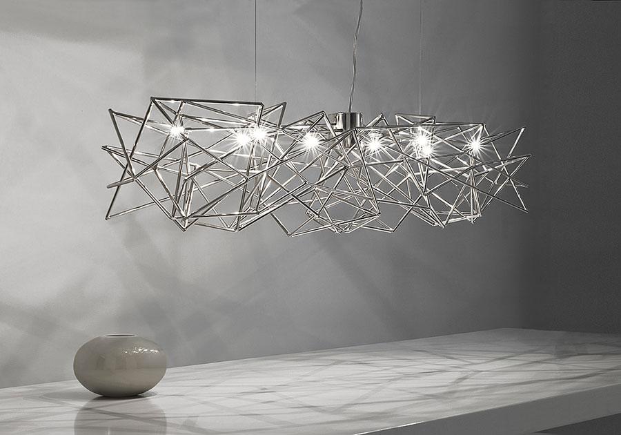 Modello di lampadario moderno di Terzani n.04