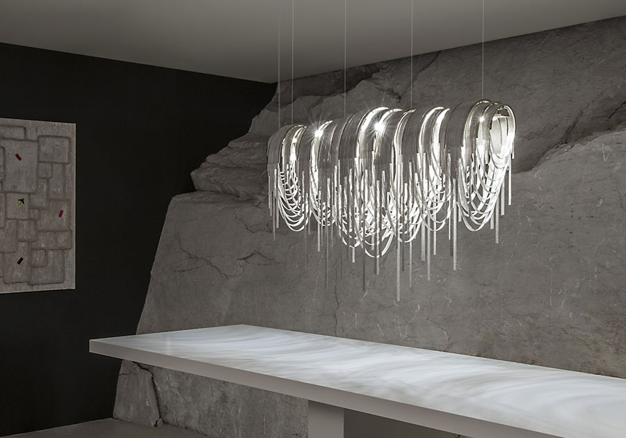 Modello di lampadario moderno di Terzani n.07