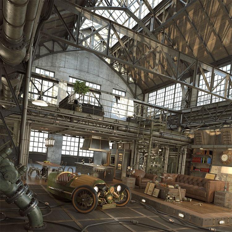 Storia dell'arredamento in stile industriale