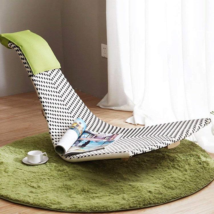 Modello di sedia a dondolo moderna n.01