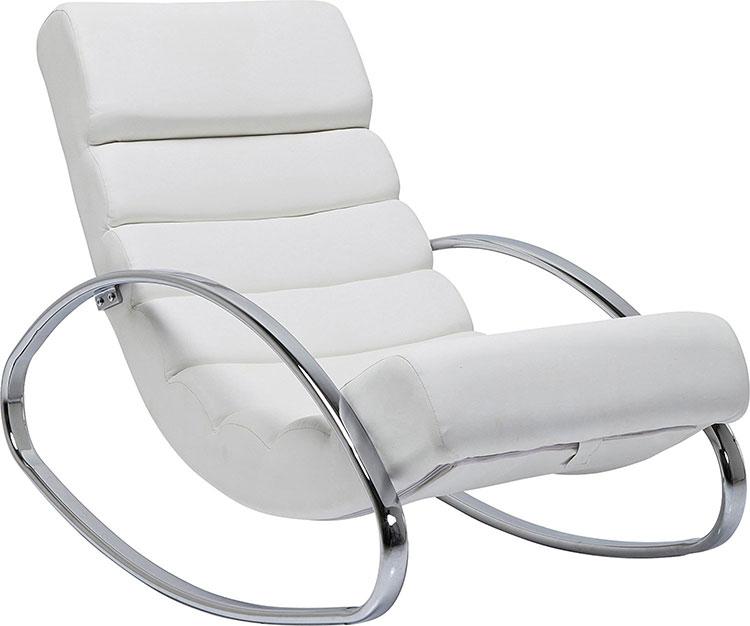 Modello di sedia a dondolo moderna n.04