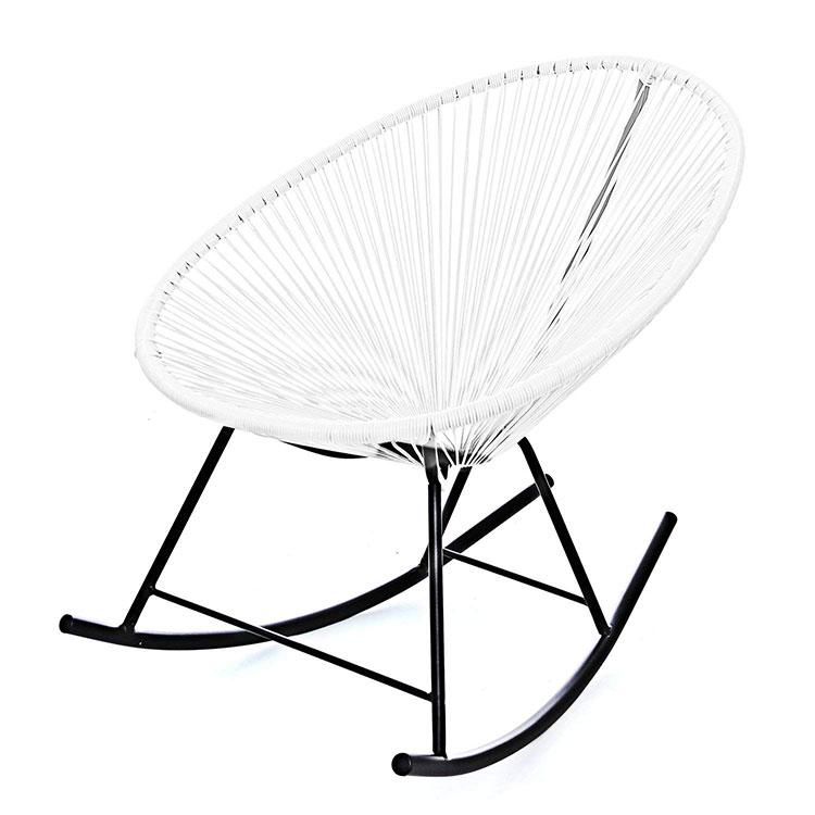 Modello di sedia a dondolo moderna n.06