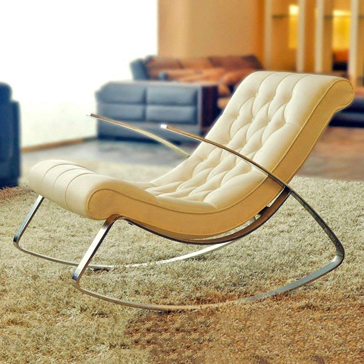Modello di sedia a dondolo moderna n.07