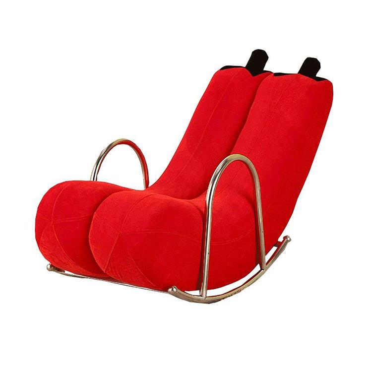 Modello di sedia a dondolo moderna n.09