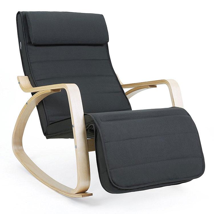 Modello di sedia a dondolo moderna n.10