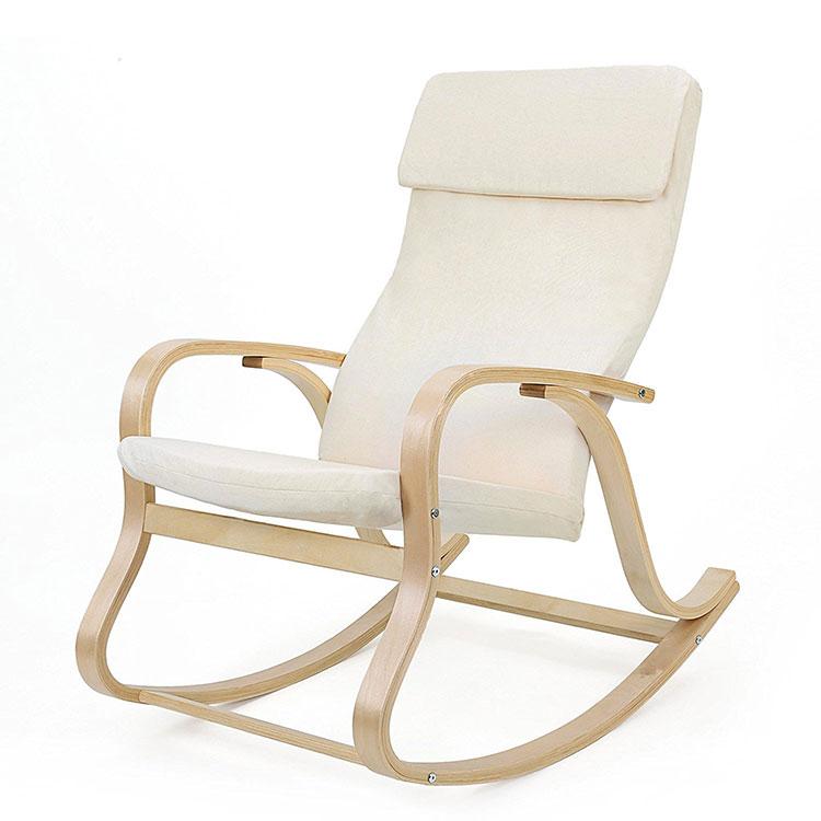 Modello di sedia a dondolo moderna n.11