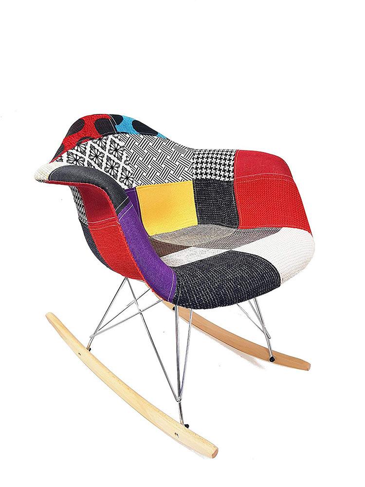Modello di sedia a dondolo moderna n.12