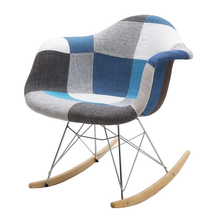 Modello di sedia a dondolo moderna n.13
