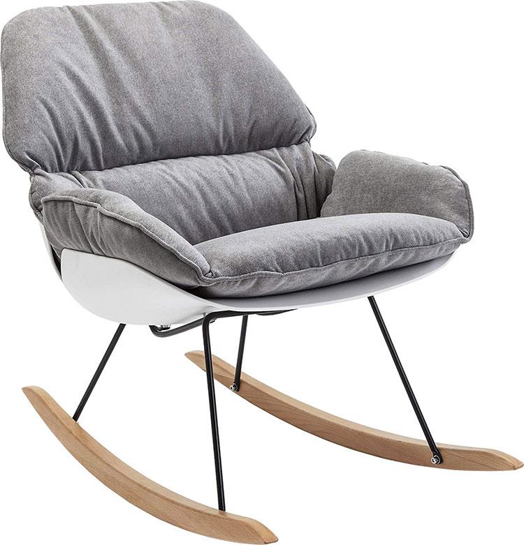 Modello di sedia a dondolo moderna n.14