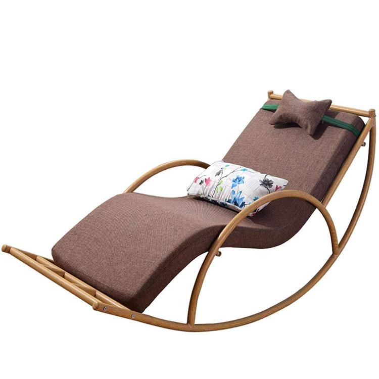 Modello di sedia a dondolo moderna n.16