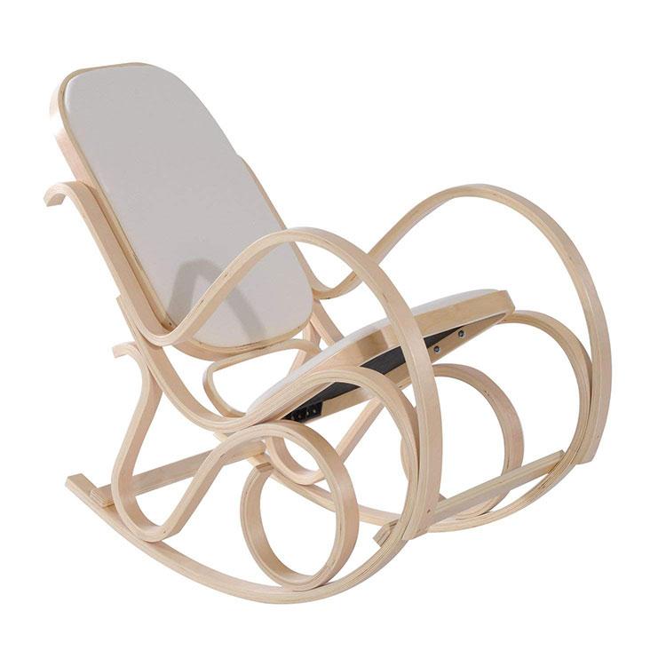 Modello di sedia a dondolo moderna n.18