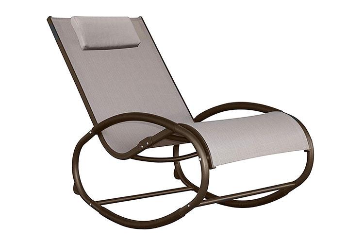 Modello di sedia a dondolo moderna n.19