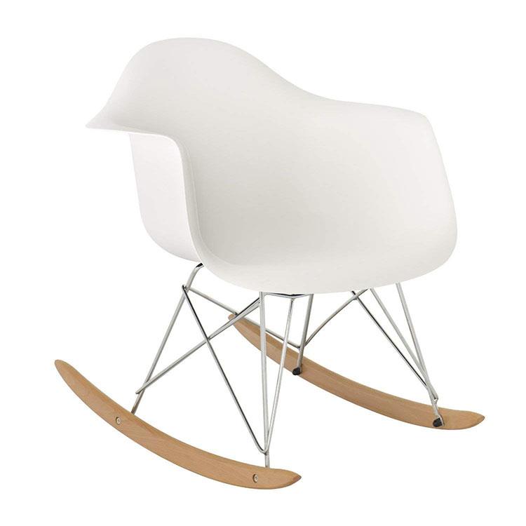 Modello di sedia a dondolo moderna n.20