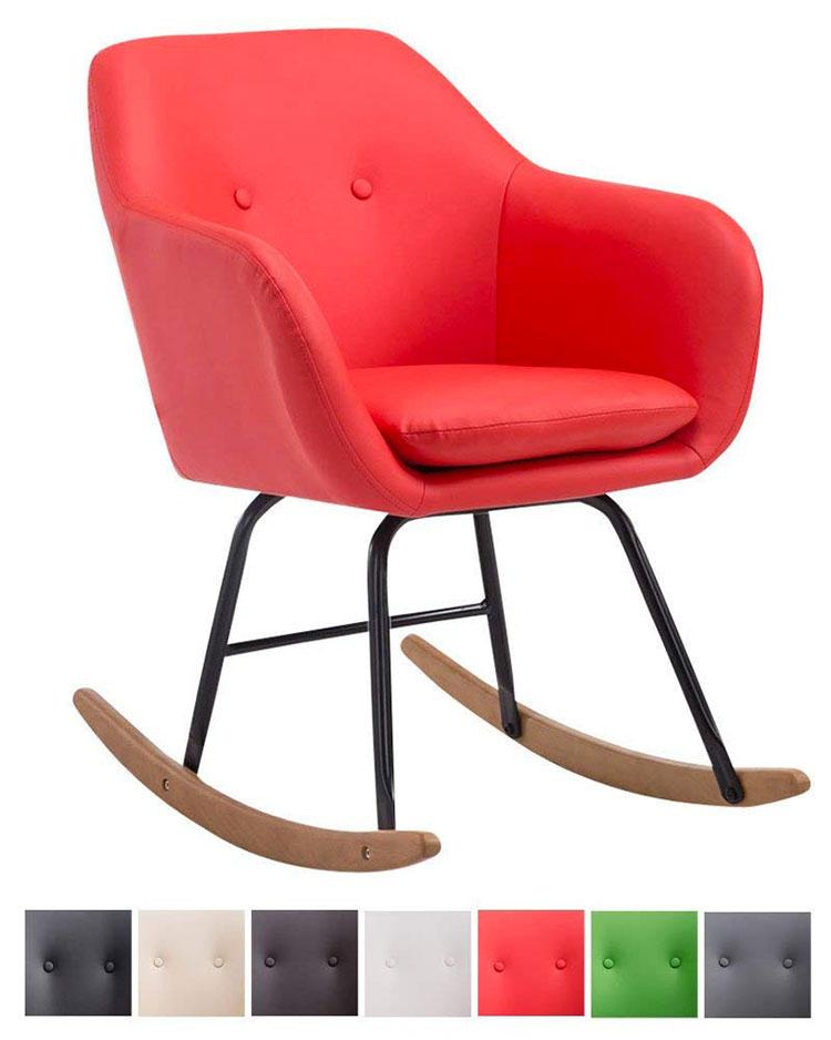 Modello di sedia a dondolo moderna n.21