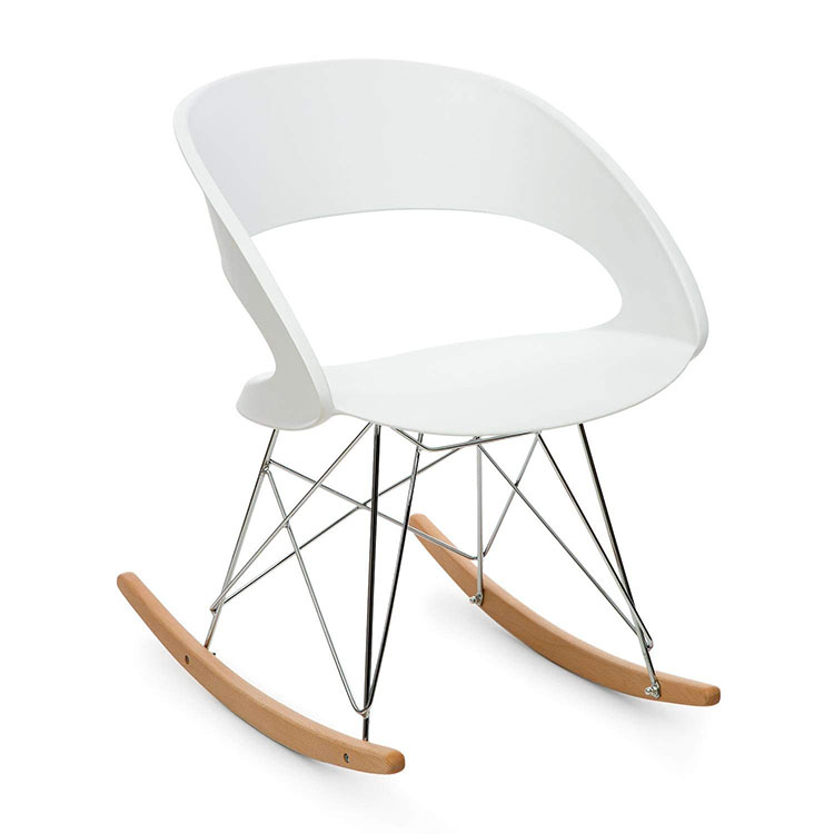 Modello di sedia a dondolo moderna n.22