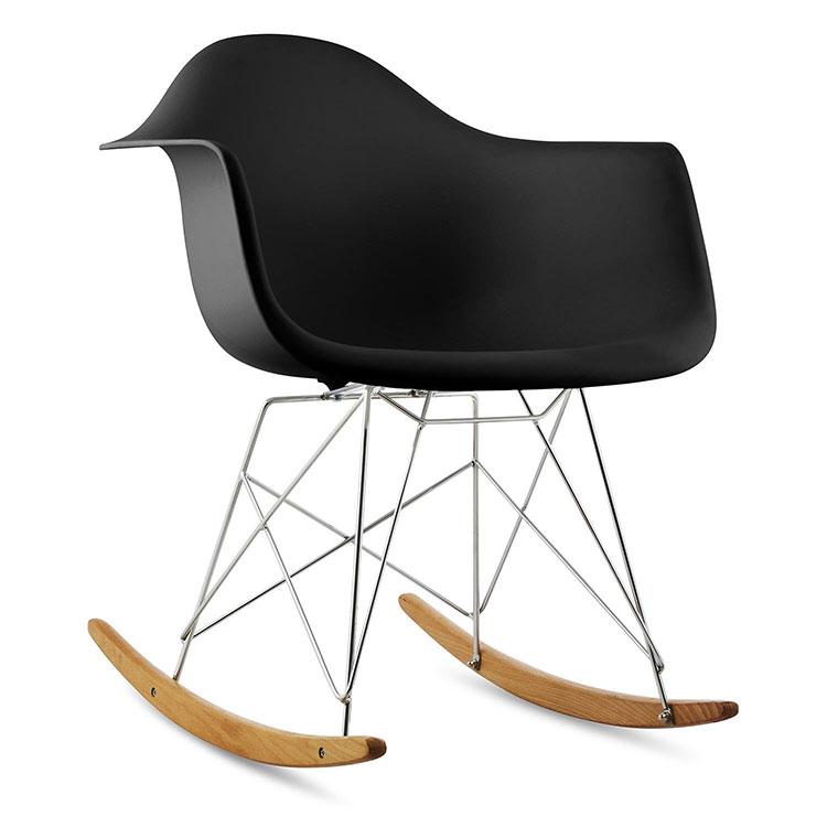 Modello di sedia a dondolo moderna n.23