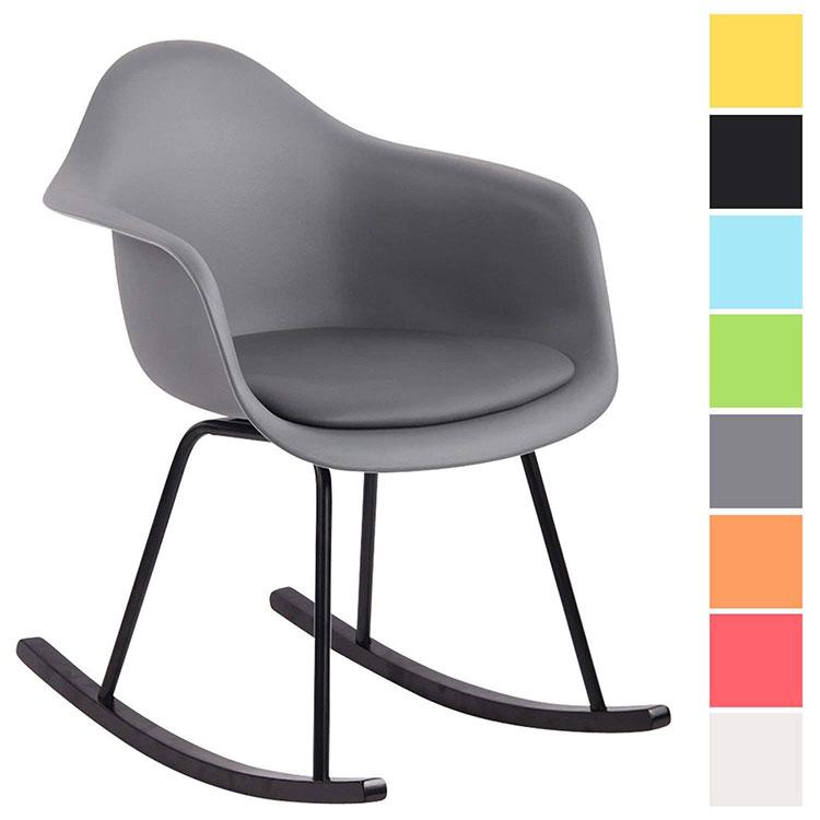 Modello di sedia a dondolo moderna n.24
