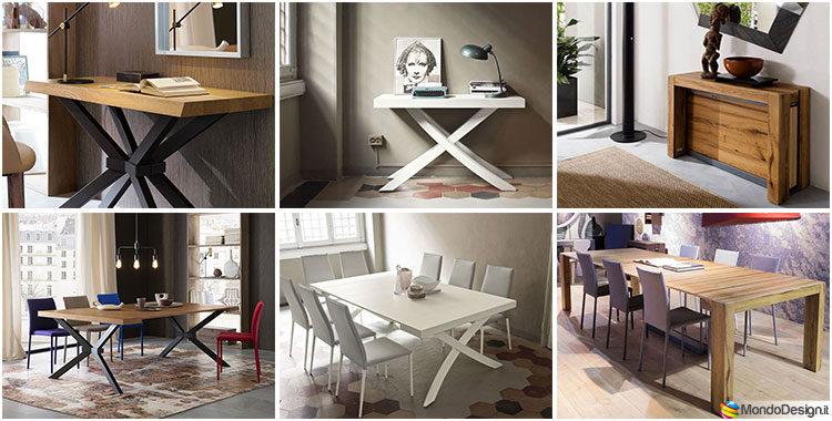 Tavolo Consolle Allungabile di Design: 20+ Modelli Versatili ed ...