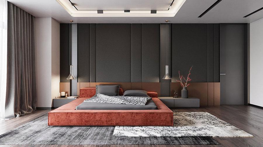 Idee per arredare una camera da letto di design n.01