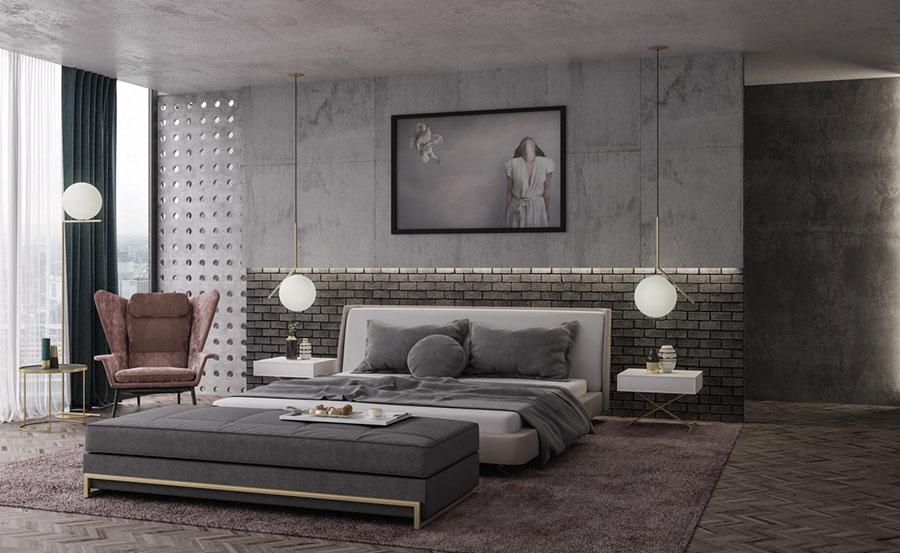 Idee per arredare una camera da letto di design n.06