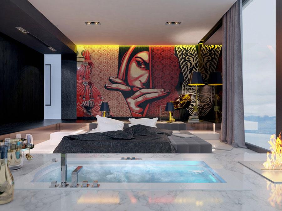 Idee per arredare una camera da letto di design n.07