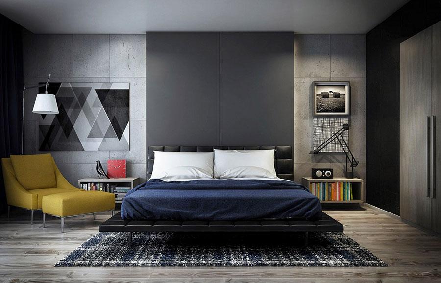 Idee per arredare una camera da letto di design n.08
