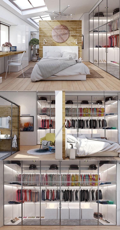Idee per arredare una camera da letto di design n.12
