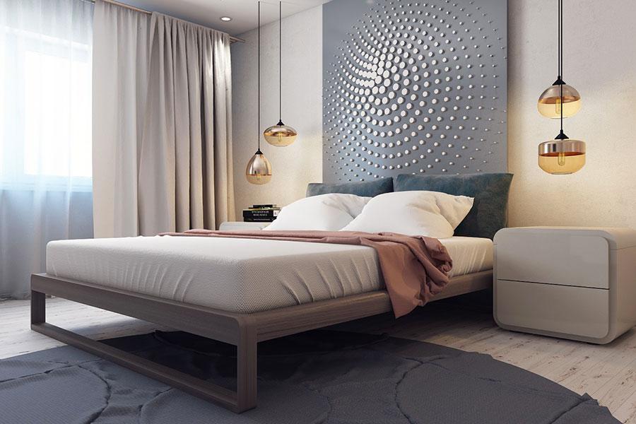 Idee per arredare una camera da letto di design n.16