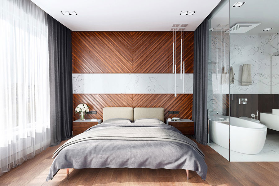 Idee per arredare una camera da letto di design n.17