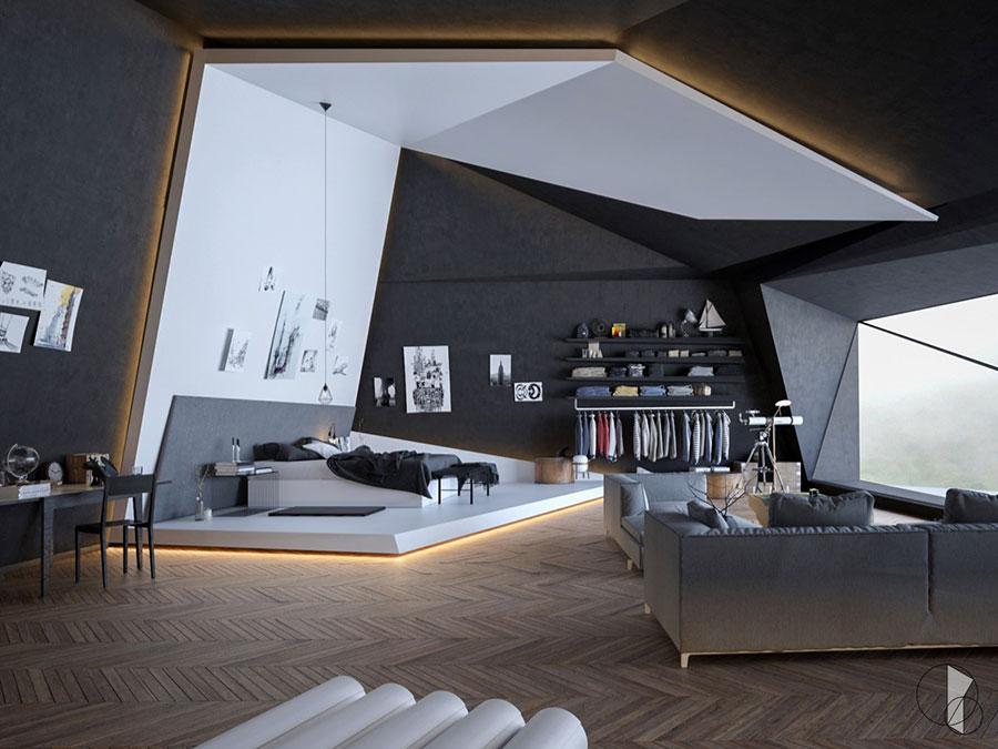 Idee per arredare una camera da letto di design n.20
