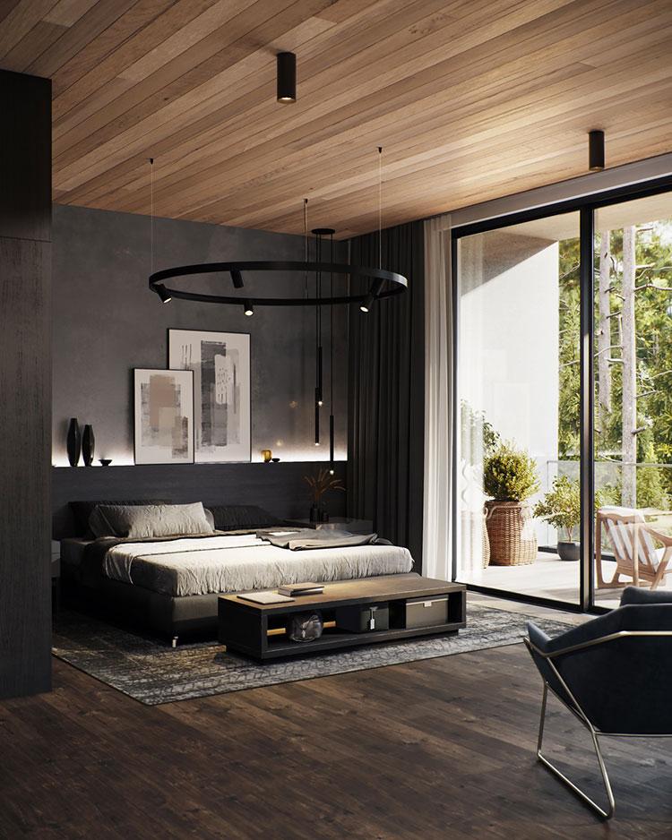 Idee per arredare una camera da letto di design n.21