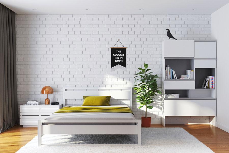 Idee per arredare una camera da letto di design n.23