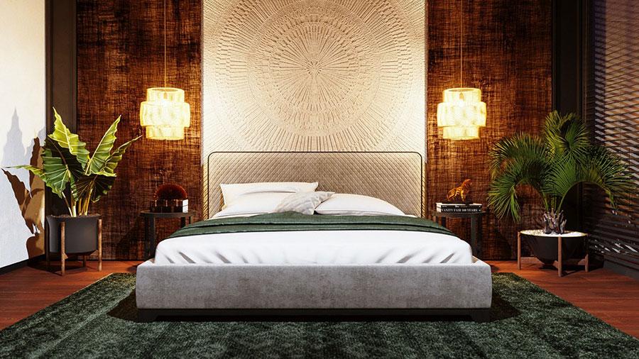 Idee per arredare una camera da letto di design n.24