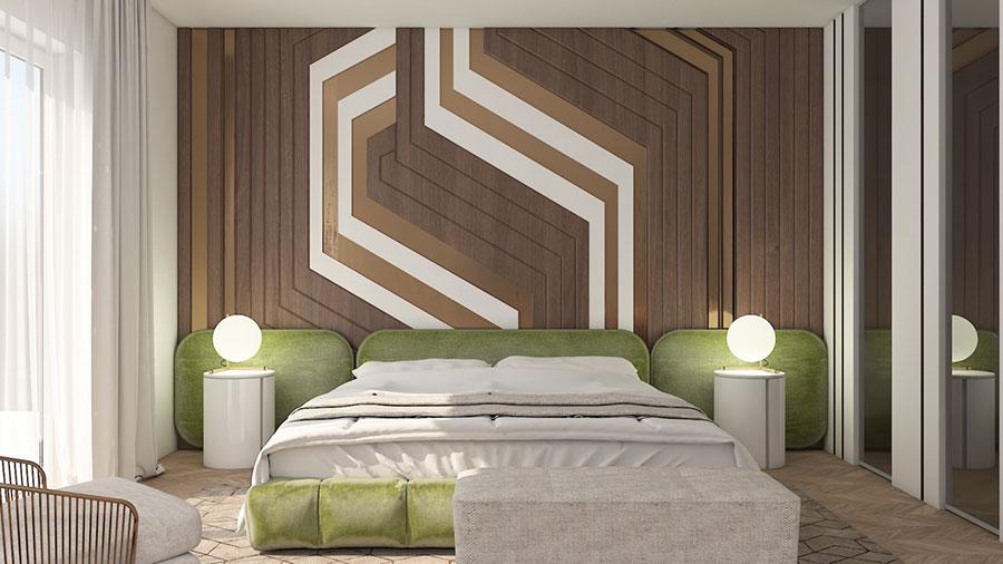 Idee per arredare una camera da letto di design n.26