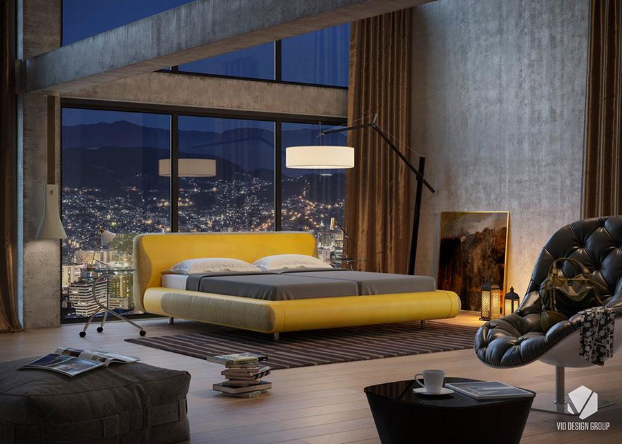 Idee per arredare una camera da letto di design n.29