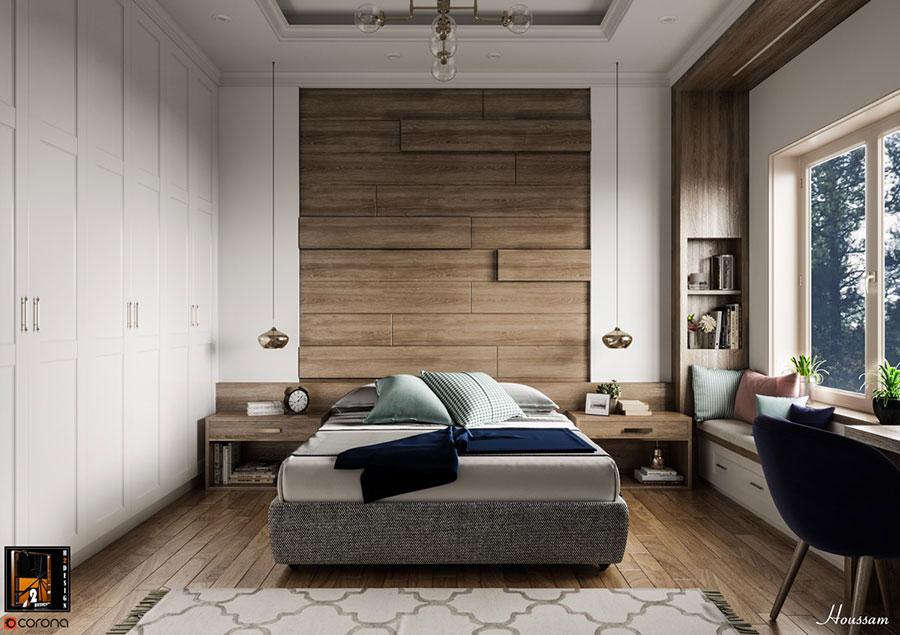 Idee per arredare una camera da letto di design n.31