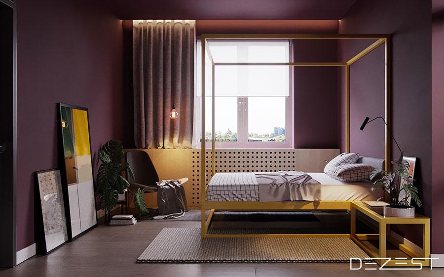 Idee per arredare una camera da letto di design n.35