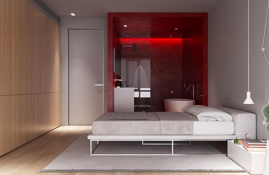 Idee per arredare una camera da letto di design n.36