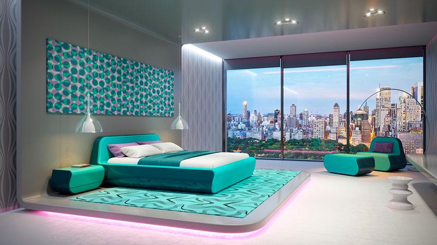 Idee per arredare una camera da letto di design n.37