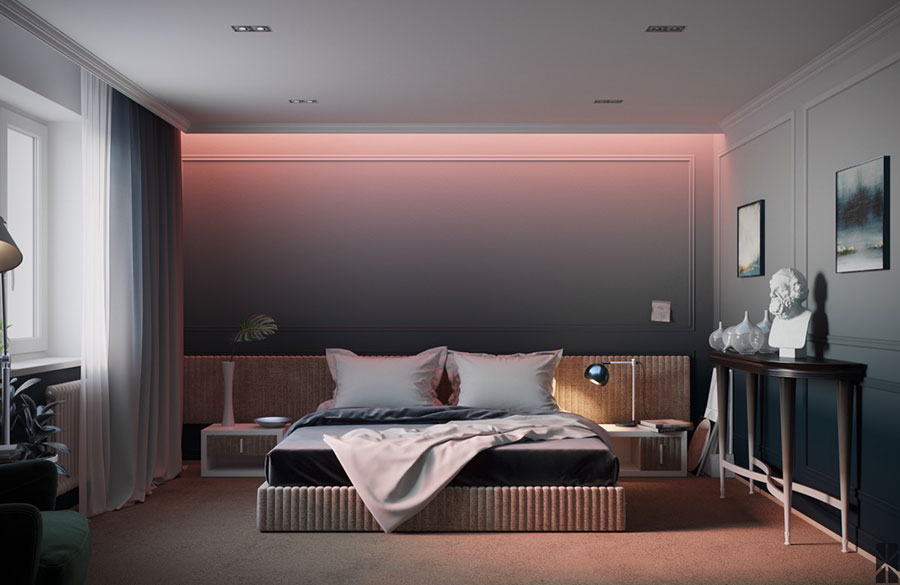 Idee per arredare una camera da letto di design n.38