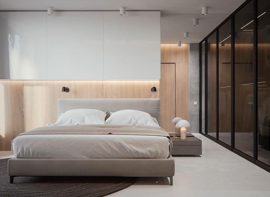 Idee per arredare una camera da letto di design n.42