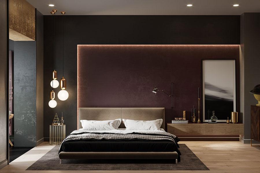Idee per arredare una camera da letto di design n.44