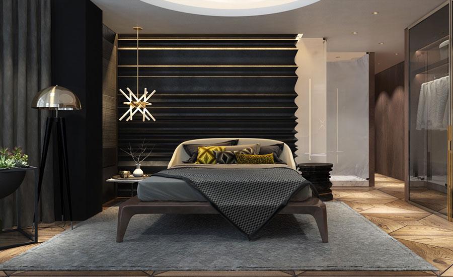 Idee per arredare una camera da letto di design n.47