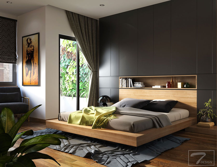Idee per arredare una camera da letto di design n.48