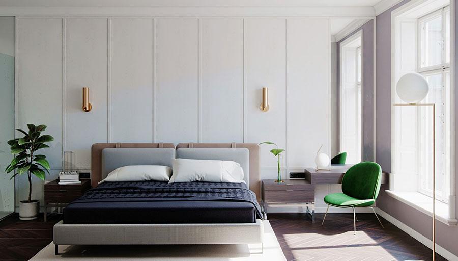 Idee per arredare una camera da letto di design n.50