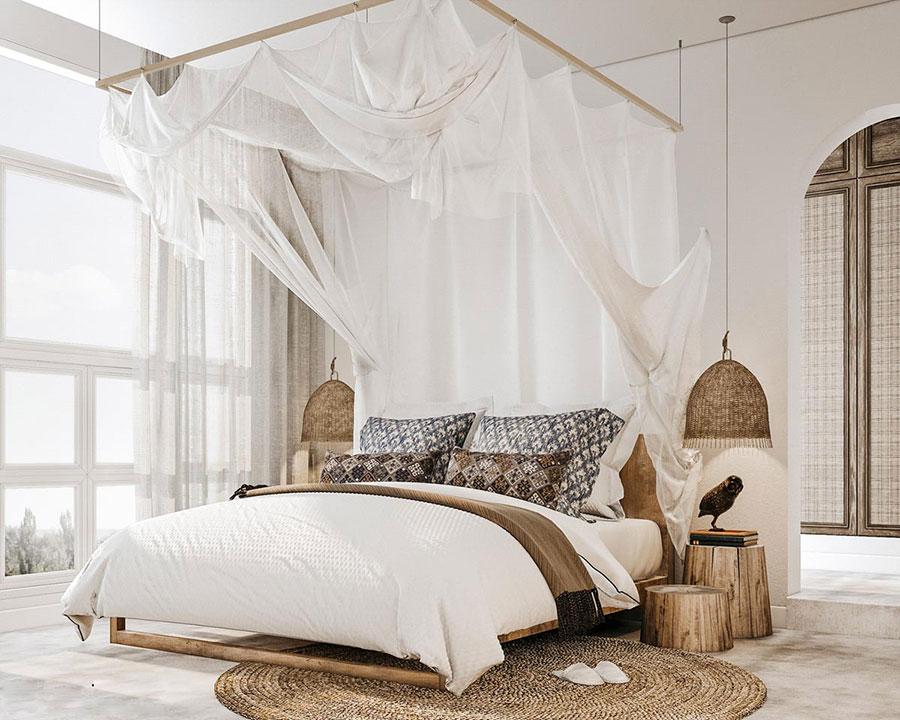 Idee di arredamento per una camera da letto rustica n.10