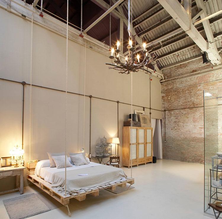 Idee di arredamento per una camera da letto rustica n.20