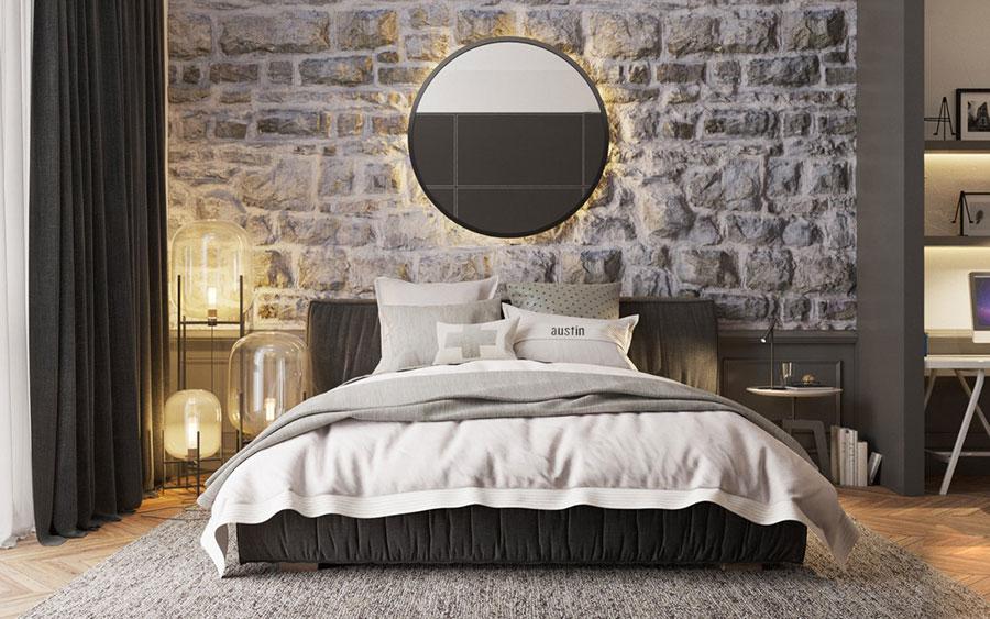 Idee di arredamento per una camera da letto rustica n.22