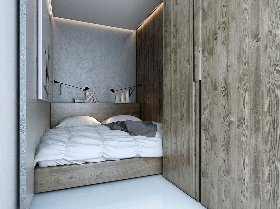 Idee di arredamento per una camera da letto rustica n.24