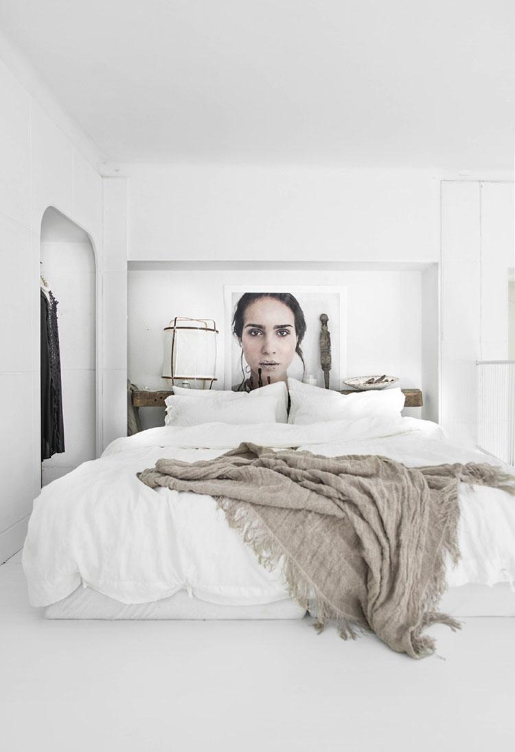 Idee di arredamento per una camera da letto rustica n.25